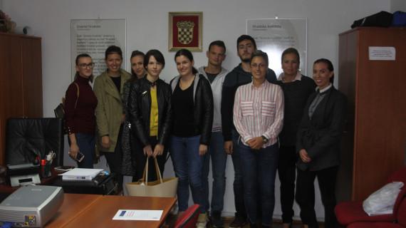 Studenti posjetili ŽK Dubrovnik