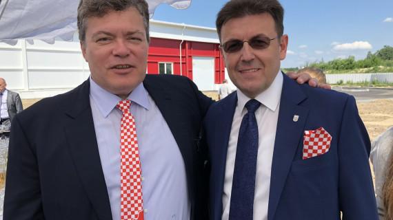 Hrvatsko gospodarsko izaslanstvo na otvorenju tvornice Produkty Pitania u Kalinjingradu