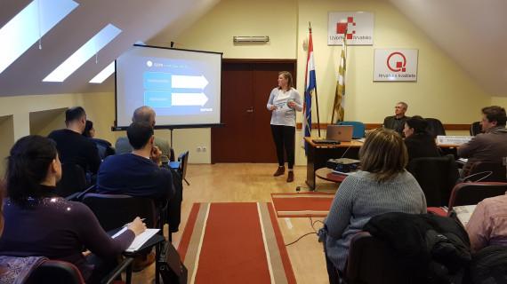 U ŽK Vukovar održana radionica GDPR uredba o zaštiti osobnih podataka i mogućnostima tehničke zaštite