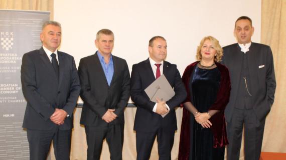 Dodijeljena priznanja najuspješnijim tvrtkama Vukovarsko-srijemske županije za 2017. godinu