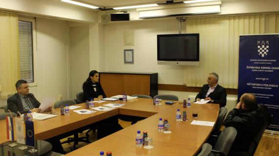 Održan sastanak Strukovne skupine prijevoznika cestovnoga prometa u ŽK Zadar