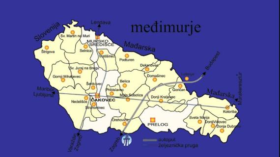 Gospodarski profil Međimurske županije u 2016. godini