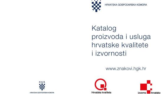 Katalog proizvoda i usluga hrvatske kvalitete i izvornosti